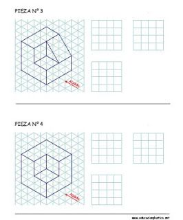 Actividades Arte Ytecnologia Dibujo Tecnico Basico Tecnicas De Dibujo Ejercicios De Dibujo Vistas Dibujo Tecnico