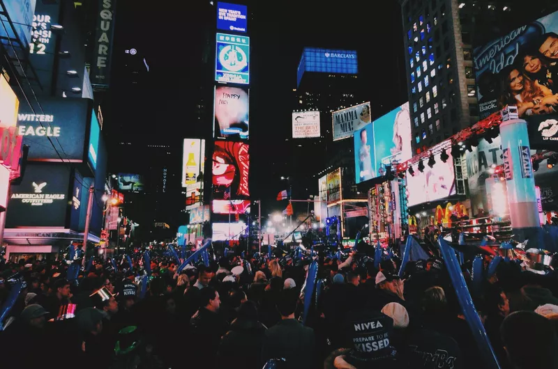 Best Places To Celebrate New Year S Eve In The U S In 2020 New Year S Eve Times Square Times Square Photography Times Square