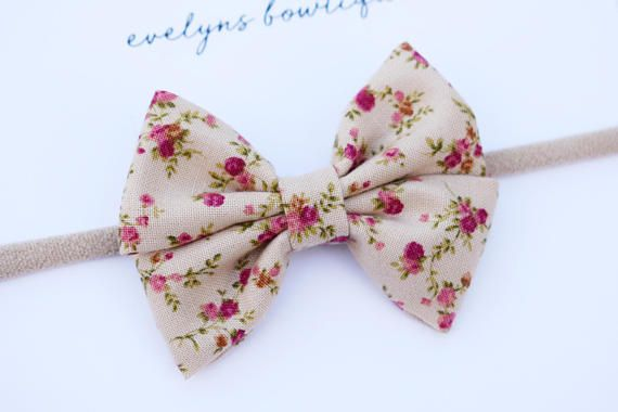 38d38d98da387 Rose Floral | hair bows, felt bow set, nylon bows, small hair bows ...