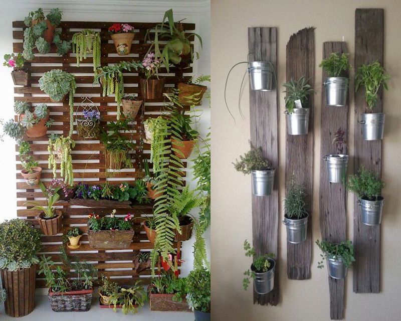 creative decorations with recycled items to turn your backyard into art