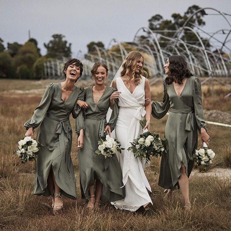 36+ Bohemian olive green bridesmaid dresses inspirations