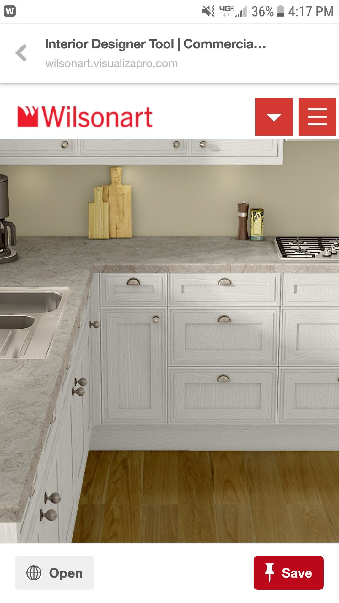Wilsonart Serrania Oak kitchen remodel, Budget kitchen
