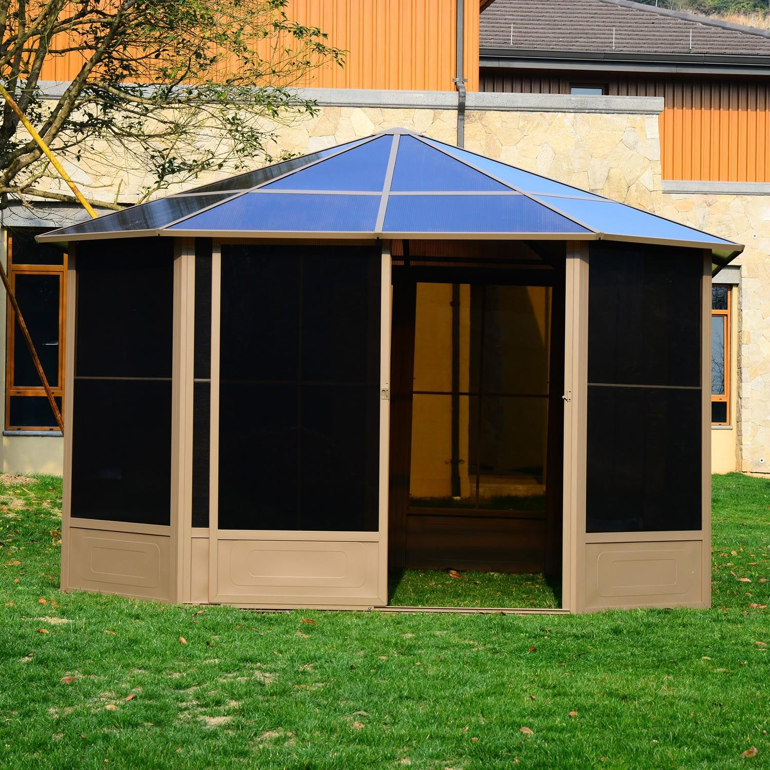 Screened Gazebo Tent for You  Gazebo Tent With Screen. Gazebo tent with screen. & Gazebo Tent with Screen | Pergola | Pinterest | Gazebo tent ...