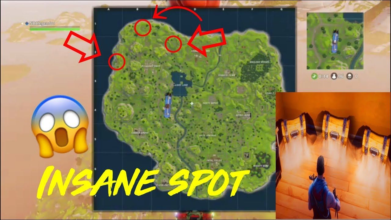 The Insane Spot No One Knows About Fortnite Battle Royale Fortnite Battle Pi Projects