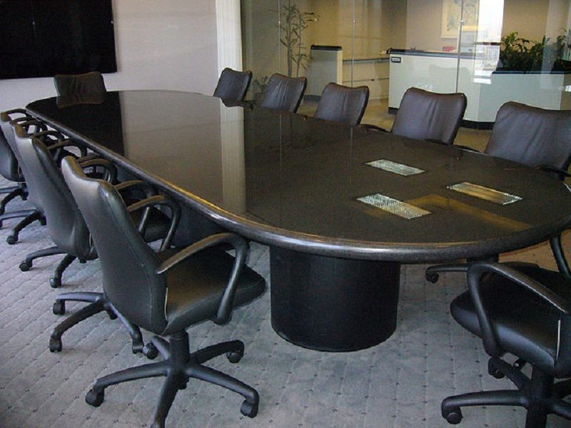 Room Leather Conference Chairs With Wheels