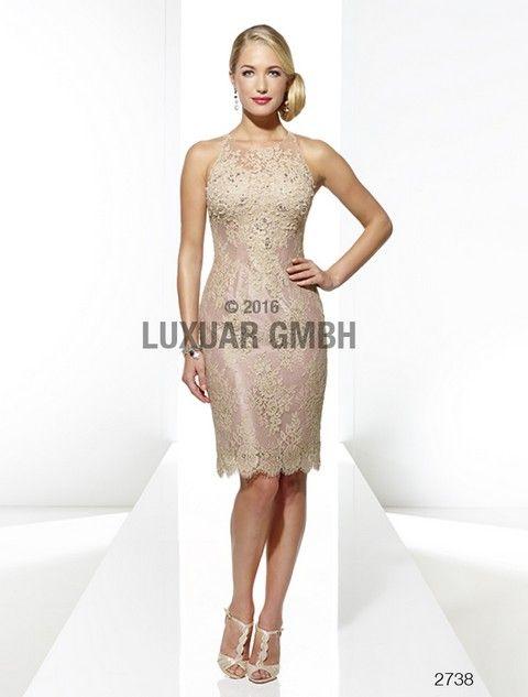 Luxusné krátke šaty Svadobný salón valery e94fe44911d
