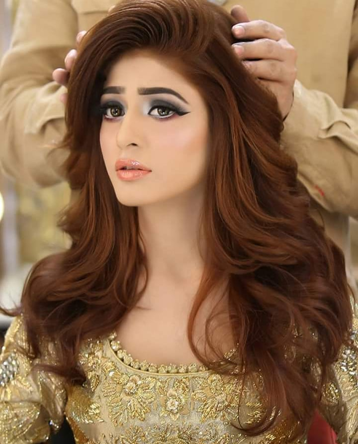 Pin by Sana 🍁 on kashee's bridals   Bride hairstyles ...