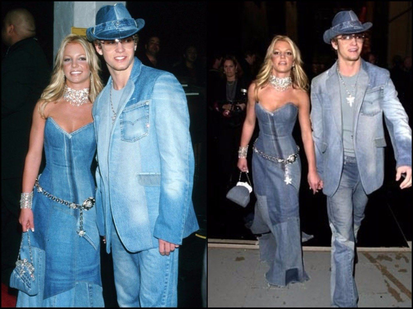 Double Denim Was A Very Popular Fashion Trend In Say The 80s But In The Last Decade Or So It Was A Big No But Somehow I Fashion Love Jeans Bridesmaid