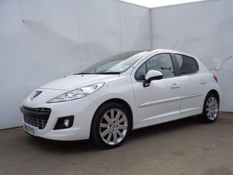 Used 2012 12 Reg White Peugeot 207 16 HDi 92 Allure 5dr For Sale On RAC Cars