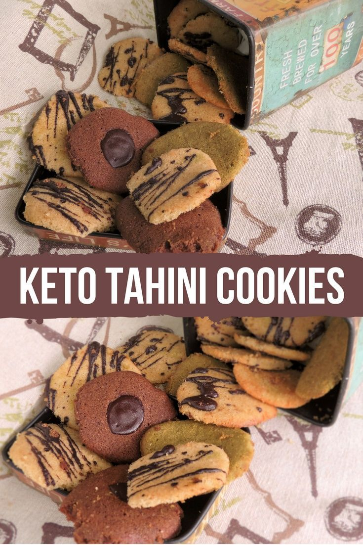 Tahini cookies #ketocookierecipes