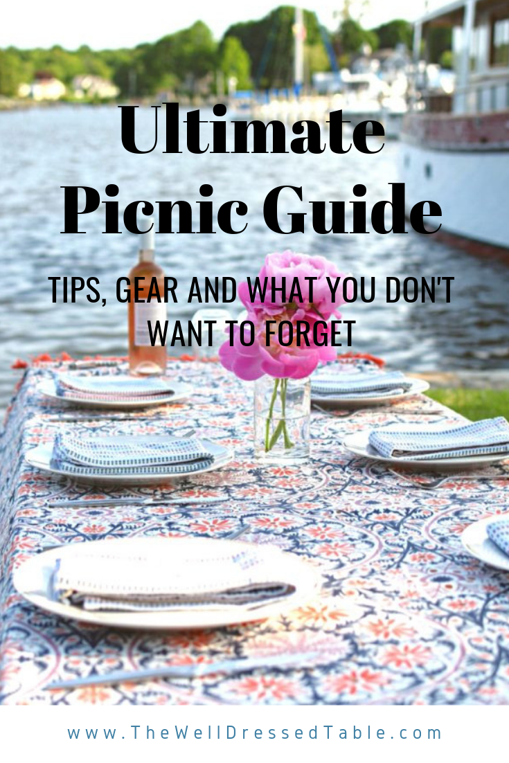 Ultimate Picnic Guide #familypicnicfoods This ultimate picnic guide has tips from a casual to an elevated picnic. Filled with picnic food ideas, picnic essentials, tips, and what not to forget. Whether you hosting a family picnic or a romantic picnic date this guide is everything you need to know about how to throw a picnic for any occasion like a picnic beach concert to a picnic birthday party. #familypicnicfoods