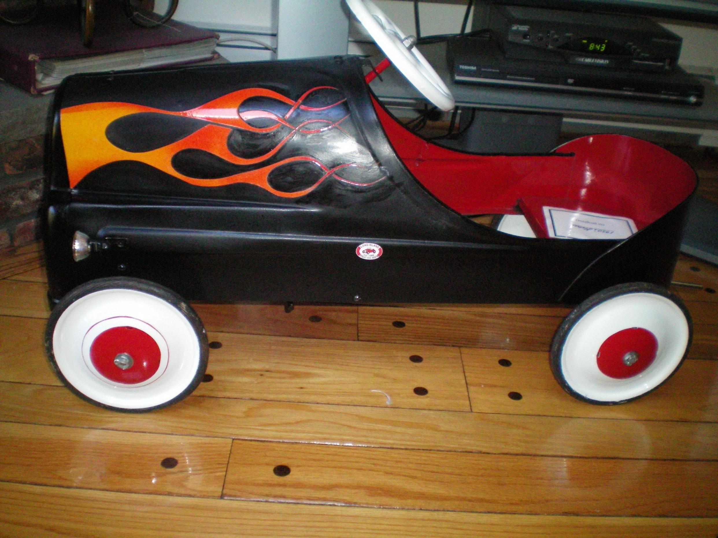 Custom Pedal Cars The H A M B Toy Car Custom Radio Flyer Wagon Kids Trike