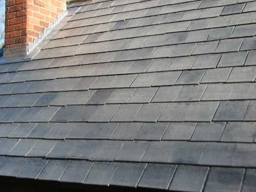 Dolls House Roof Tiles   Excellent Example Of Slate Tile Roof Effect Using  Bromley Craft Product