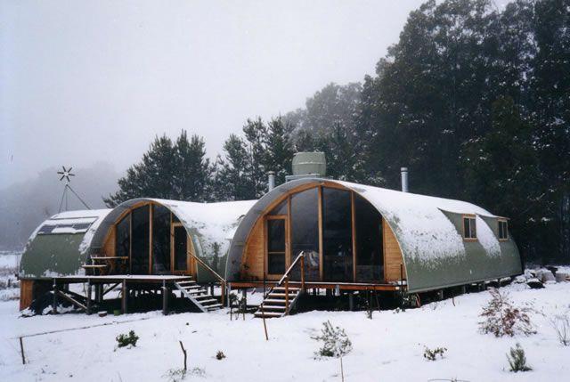 quanset hut house - Google Search | Quanset Hut Architecture ...