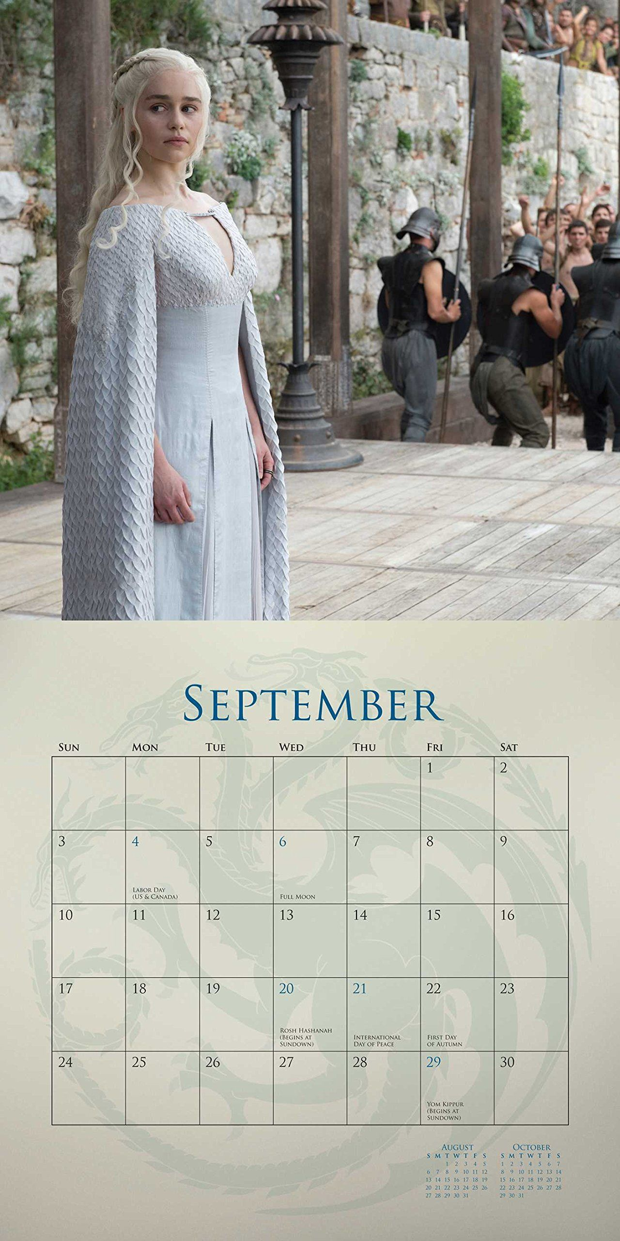 Game Of Thrones 2017 Wall Calendar Hbo 9780789331724 Amazoncom