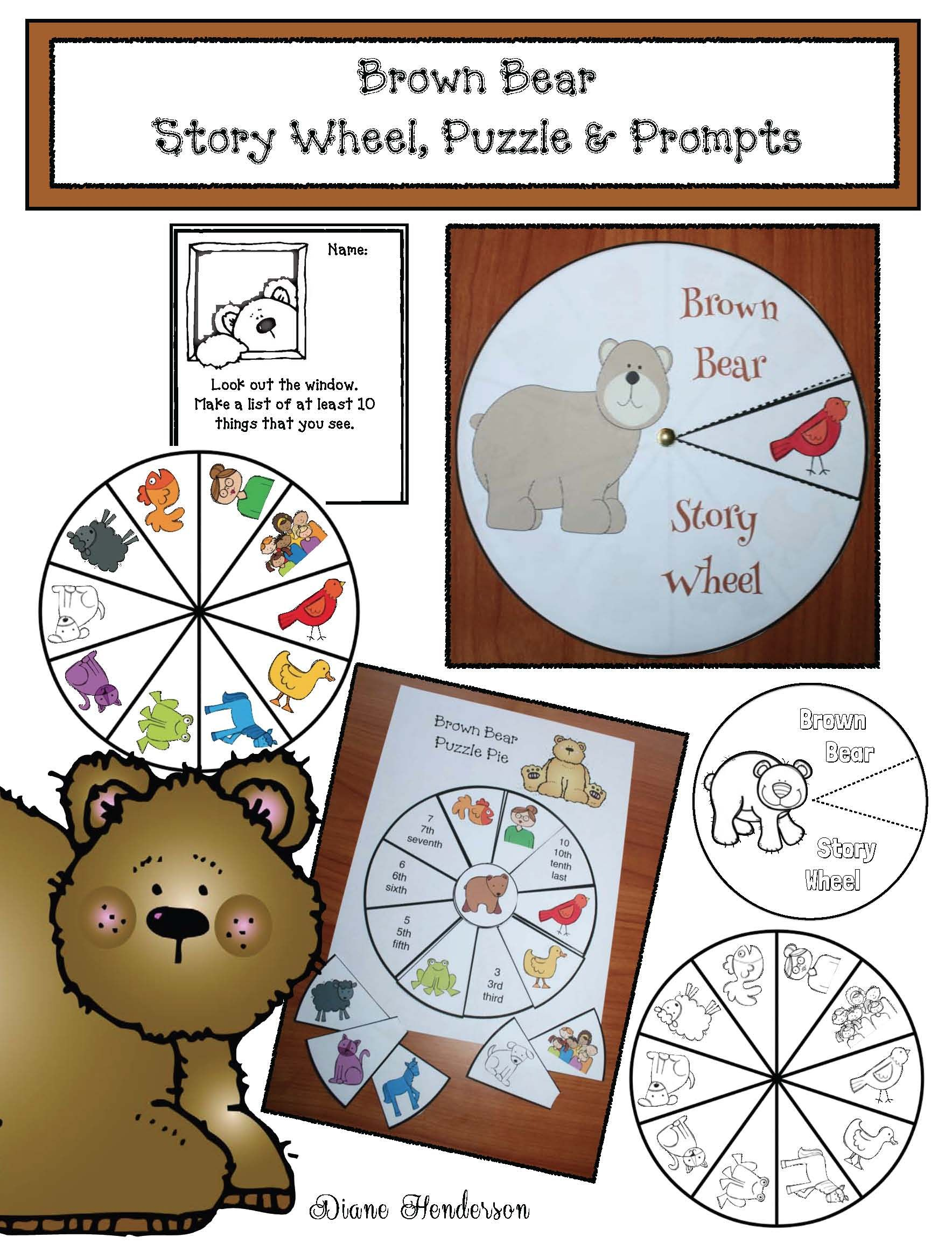 Brown Bear Brown Bear Activities Games Amp Crafts