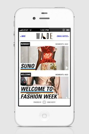 New PRO apps & streaming in Fashion Week