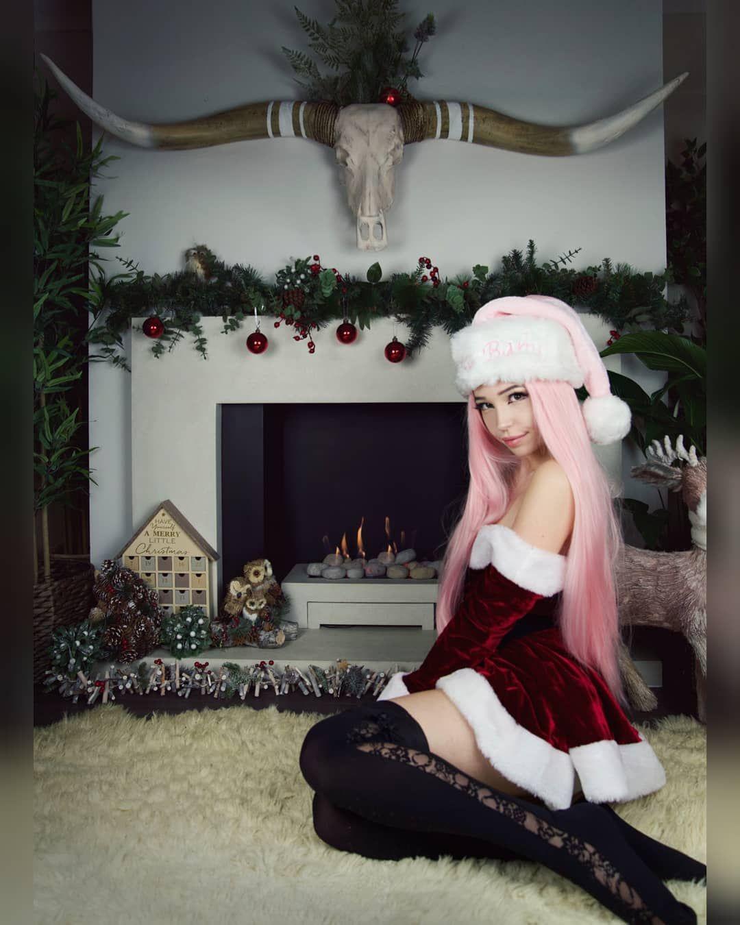 Belle Delphine Christmas