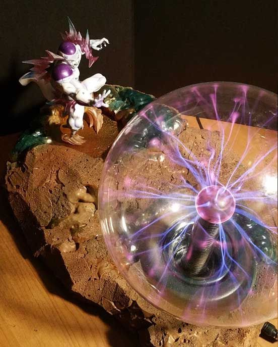 Honesty Dragon Ball Z Son Goku Burdock Kamehameha Diy Led Night Light 150mm Anime Dragon Ball Super Saiyan Dbz Toy Led Night Lights