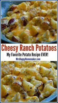 Cheesy Ranch Potatoes - My Favorite Potato Recipe