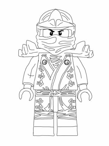 new ninjago coloring pages # 1
