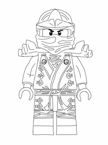 new ninjago coloring pages # 1