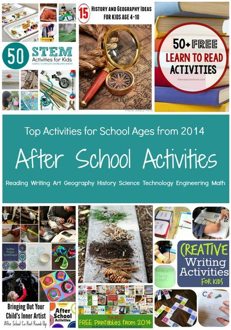 Photo of Top Activities from the After School Team in 2014
