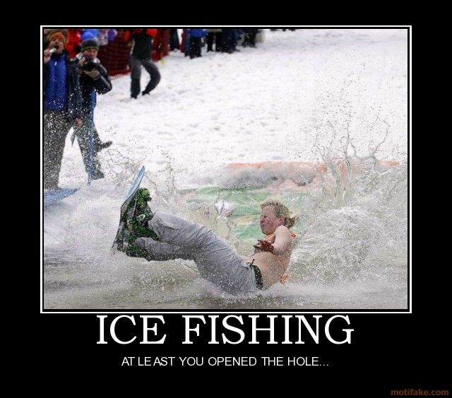 Ice fishing meme google search also the hardway rh pinterest
