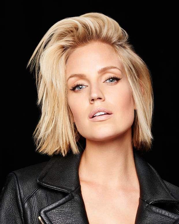 10 idées de coupes de cheveux spécial cheveux fins | Coupe cheveux carré plongeant, Coupe visage ...