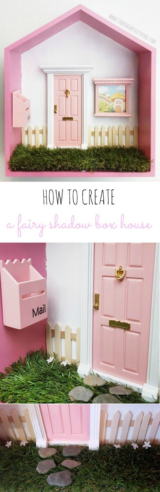 Mummy must have review fairy houses shadow box and fairy for Fairy door kmart