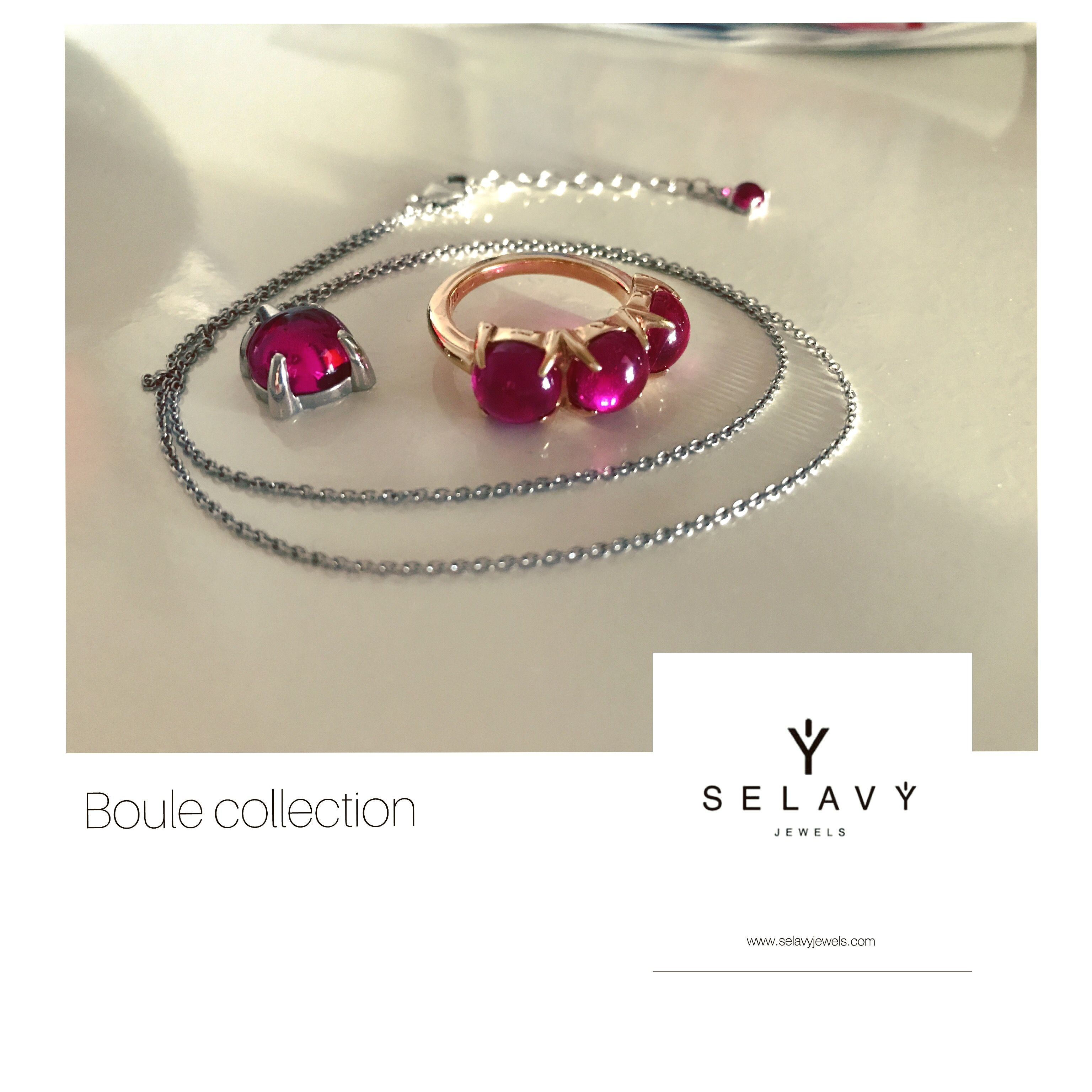 SELAVY' JEWELS Boule Collection. www.selavyjewels.com