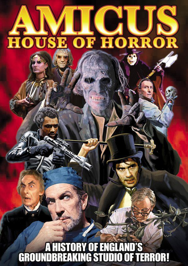 Featuring Interviews With Key Individuals Who Worked For Amicus Actors Directors Etc And Horror House Classic Horror Movies Posters Classic Horror Movies