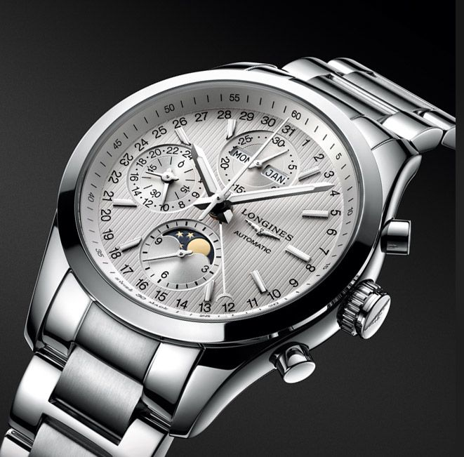 Conquest Classic Moonphase · Longines Novelties 2015 | Beautiful mens  watches, Longines watch, Watches
