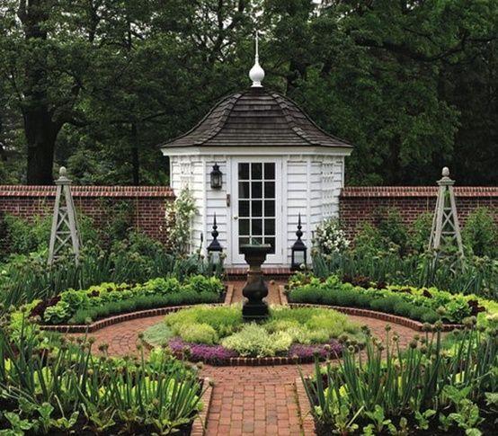 a formal garden design ---Jardins De Ideias!por Depósito Santa ...
