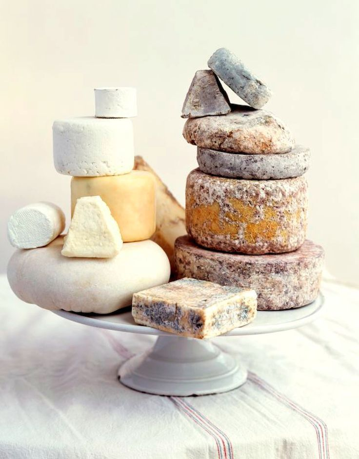 This collection of cheese looks magnificent!