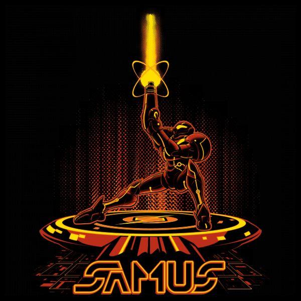 #metroid #samus #tron #tshirts