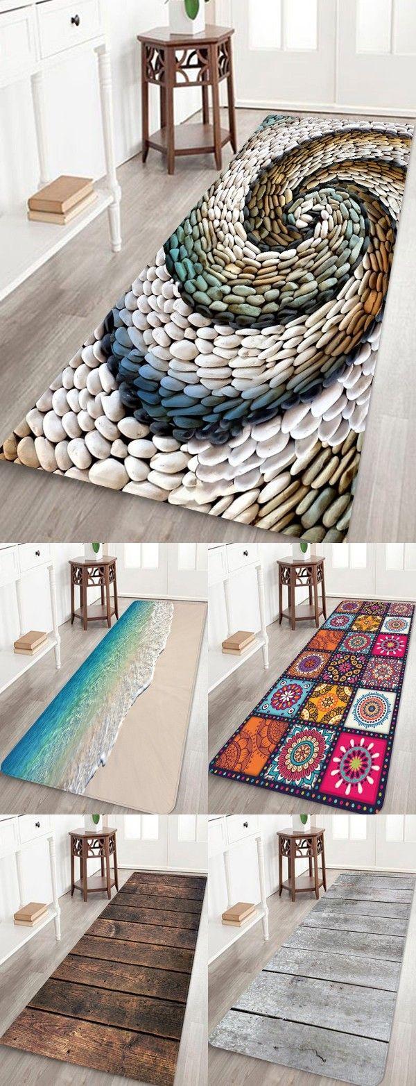 Rosegal 3d Print Floor Rug Antiskid Area Rug Home Bath Rug Ideas Diy Bath Mats Floor Rugs Bathroom Rugs [ 1564 x 600 Pixel ]