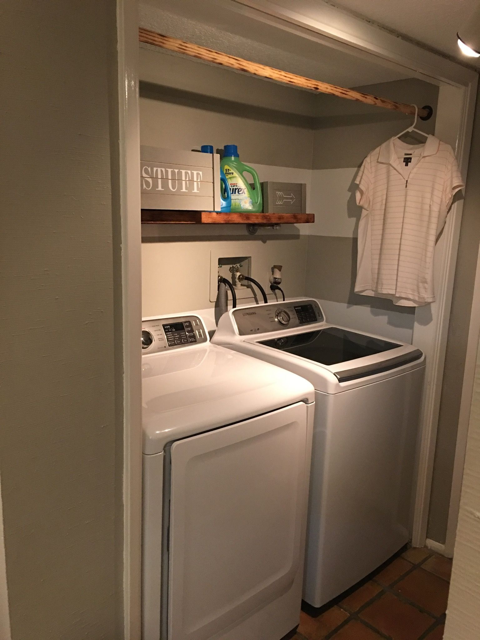 12 Brilliant Ways to Organize a Small Laundry Room a Bud