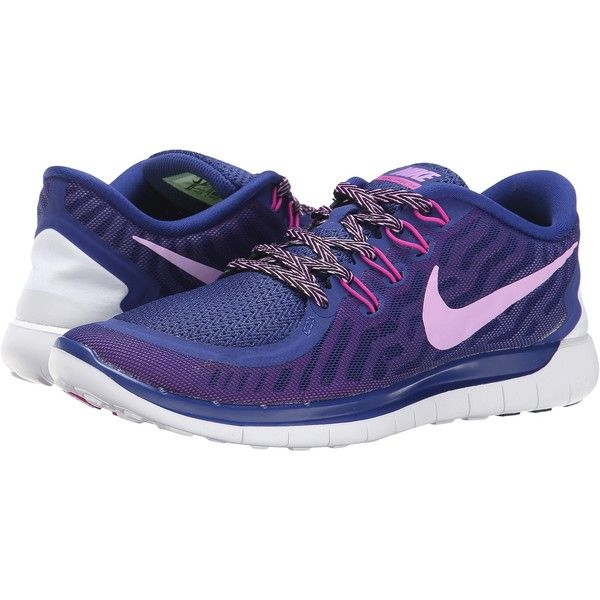 reputable site 22a68 f77b0 ... Nike Free 5.0 Women s Running Shoes, Navy ( 70) ❤ liked on Polyvore  featuring ...