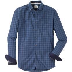 Photo of Camicia casual Olymp Level Five, vestibilità aderente, abbottonatura, blu navy, S Olymp
