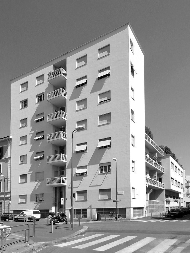 Giuseppe terragni casa rustici milano maestri terragni for Architettura interni case