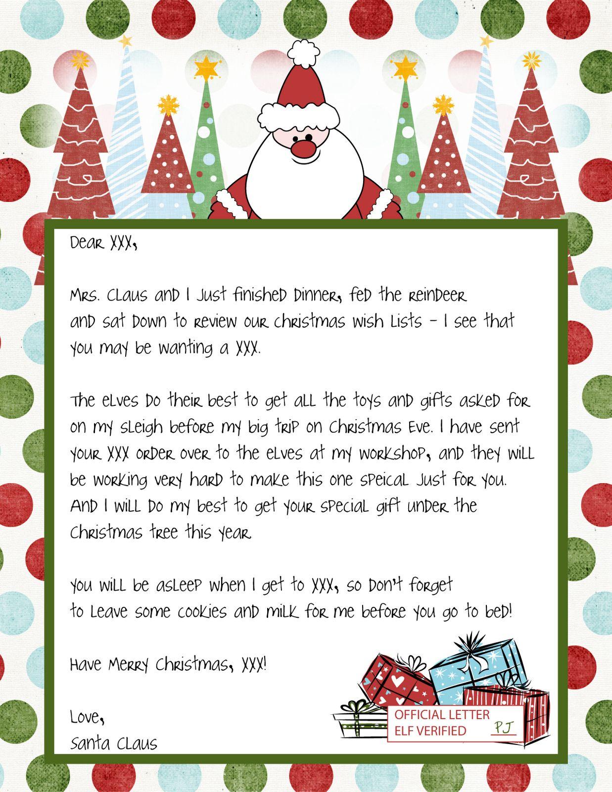 The wonderful Printable Blank Santa Claus Free Large