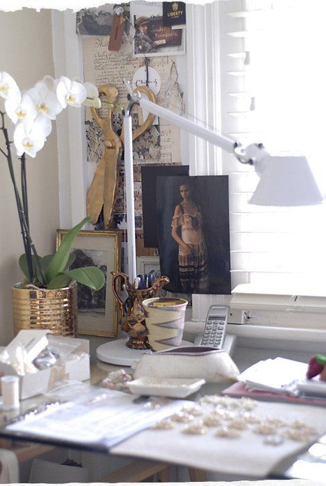 Deskscape from Anthropologie archives