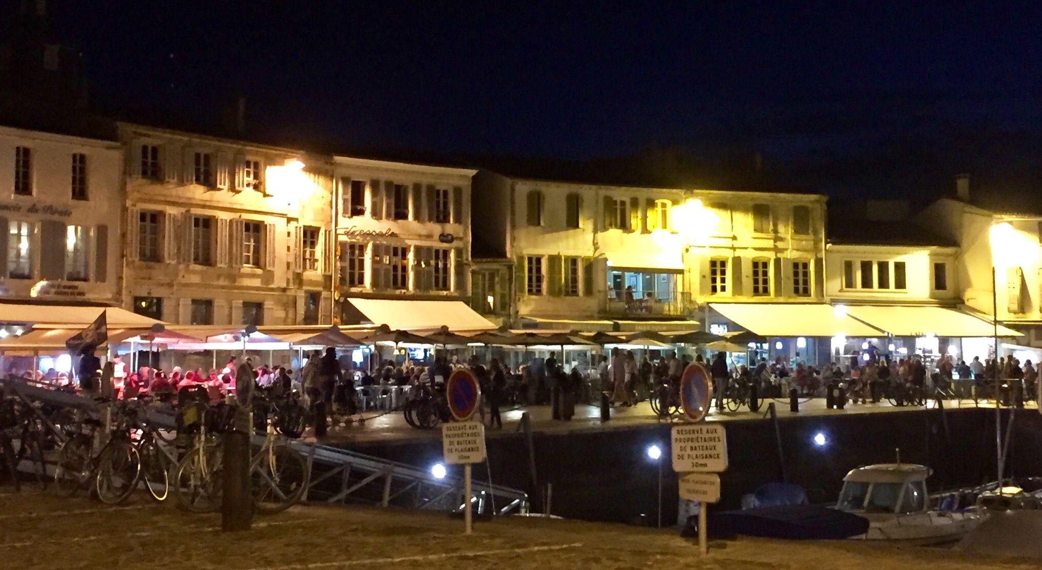Port de La Flotte en Ré de nuit, Ile de Ré Plaatsen om