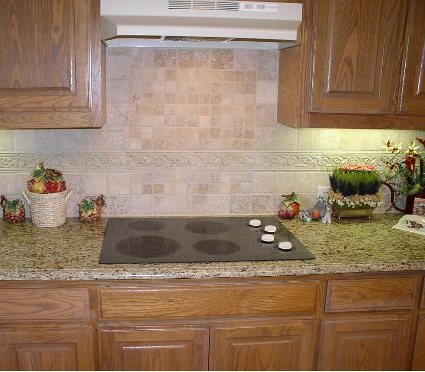 Kitchen Travertine Backsplash Ideas Part - 18: Backsplash Ideas For Giallo Ornamental | Light Travertine Backsplash (79),  Turkish Light Travertine