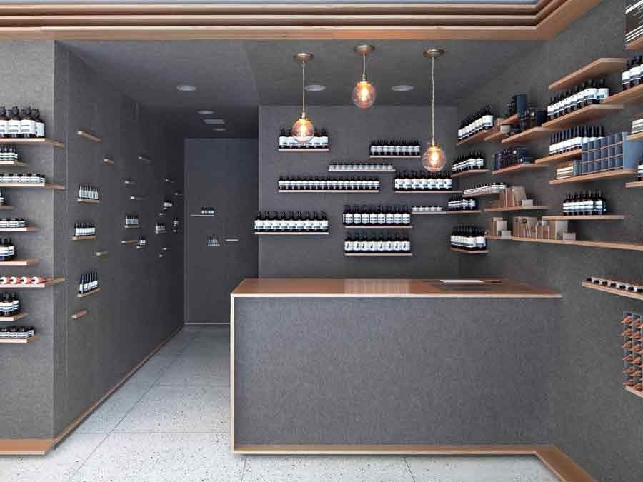Aesop University Place Retail Store DesignRetail Interior