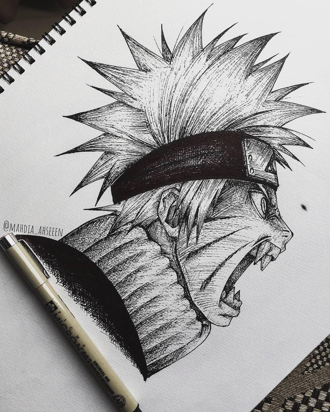 Video Desenhe Seus Personagens Favoritos Naruto Dibujos A Lapiz