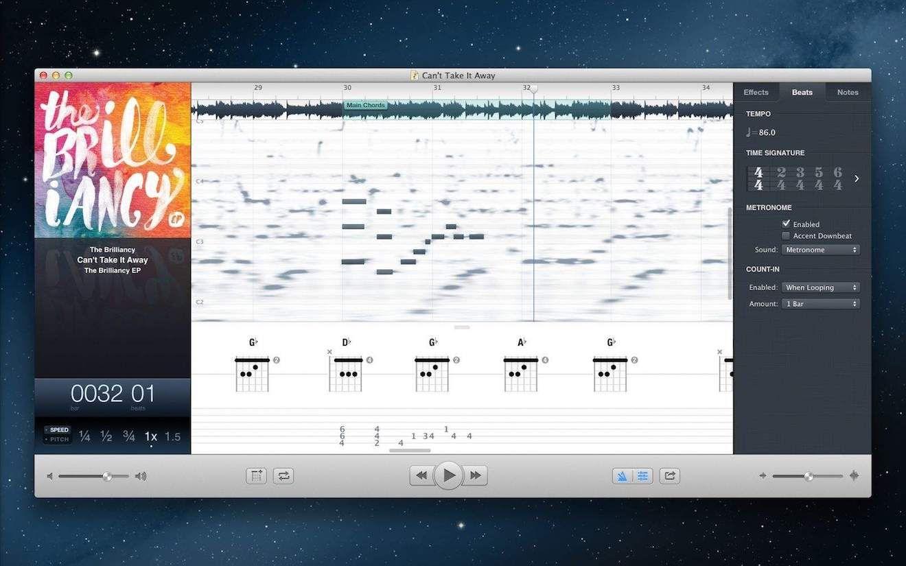 Capo, o app que vai te ajudar a tirar músicas de ouvido
