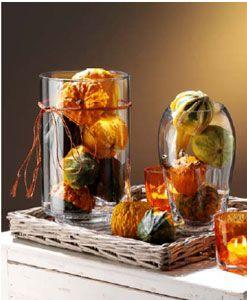 glas deko k rbis google suche deco pumpkin pinterest herbst dekoration deko und dekoration. Black Bedroom Furniture Sets. Home Design Ideas