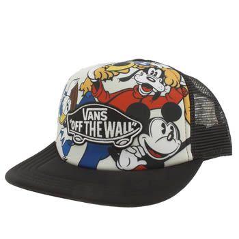 Multi Vans Disney Mickey Trucker Unisex Hats Schuh Vans Hats Disney Vans Kid Shoes